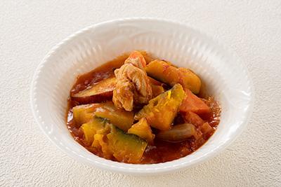 鶏と野菜のラタトゥーユ